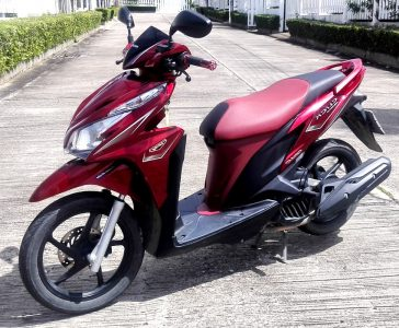 Rent motorbike in Hua Hin